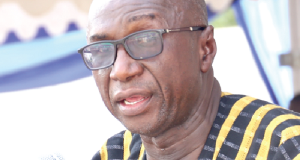 Ambrose Dery, Interior Minister