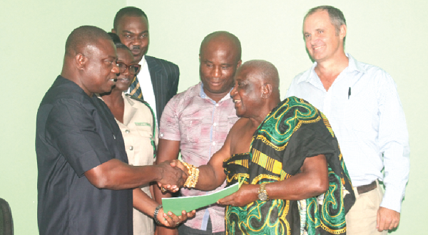 Forestry Commission, Partners sign MoU on Restoration of Tain II forest Reserve