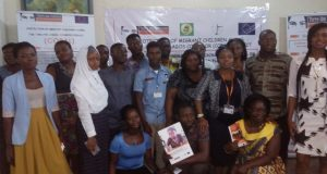 A picture of participants at the workshop