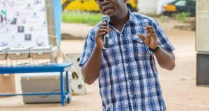 Stephen Paa Kwesi Quainoo, President and founder, Clothe the Naked Outreach