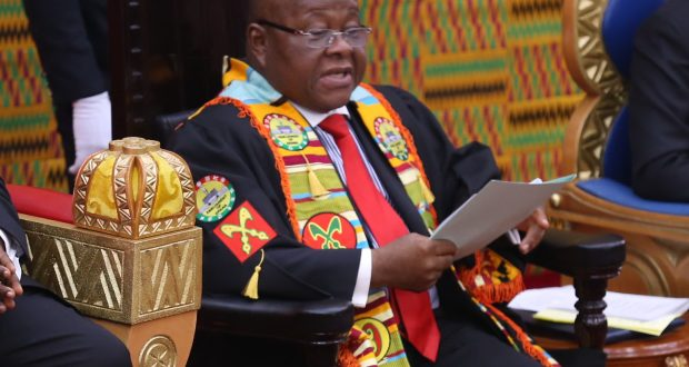 Prof. Mike_Ocquaye, speaker of Parliament