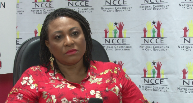 Madam Josephine Nkrumah, Chairperson, NCCE