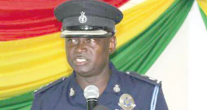 Chief Superintendent of Police Mr Francis Yiribaare, Amasaman Divisional Police Commander