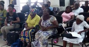 A section of the PWDs at the Health Session