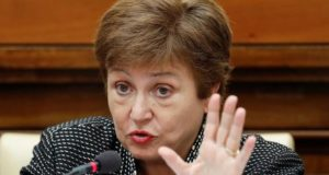 Kristalina Georgieva, Managing Director, IMF