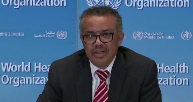 Tedros Adhanom Ghebreyesus, WHO Director-General