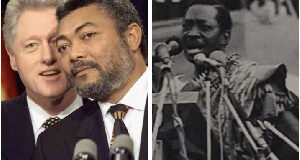 Kow Arkaah, was Rawlings' first vice-president in a democratic Ghana.