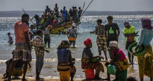 People displaced by the attacks have been fleeing to nearby islands